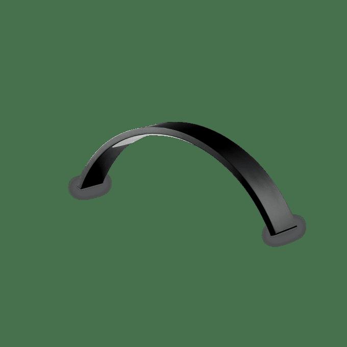 Lámpara de sobremesa de Hierro y color Negro