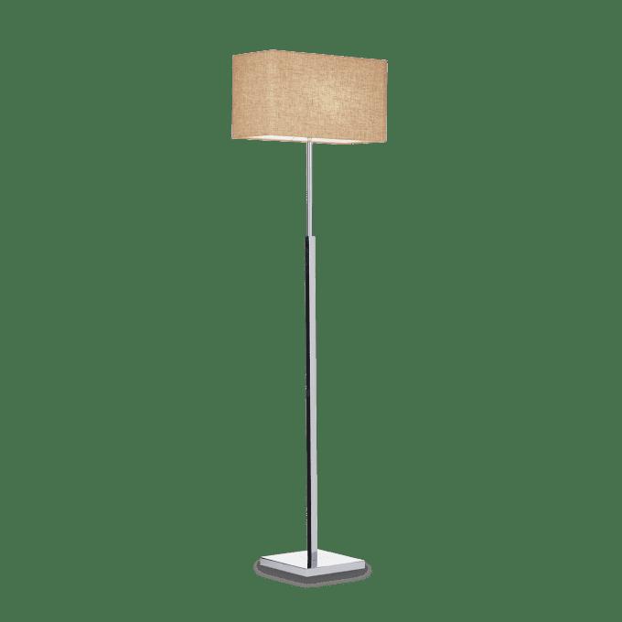 Lámpara de pie de Hierro