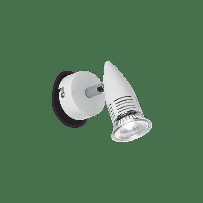 Lámpara de pared de Hierro y color Blanco