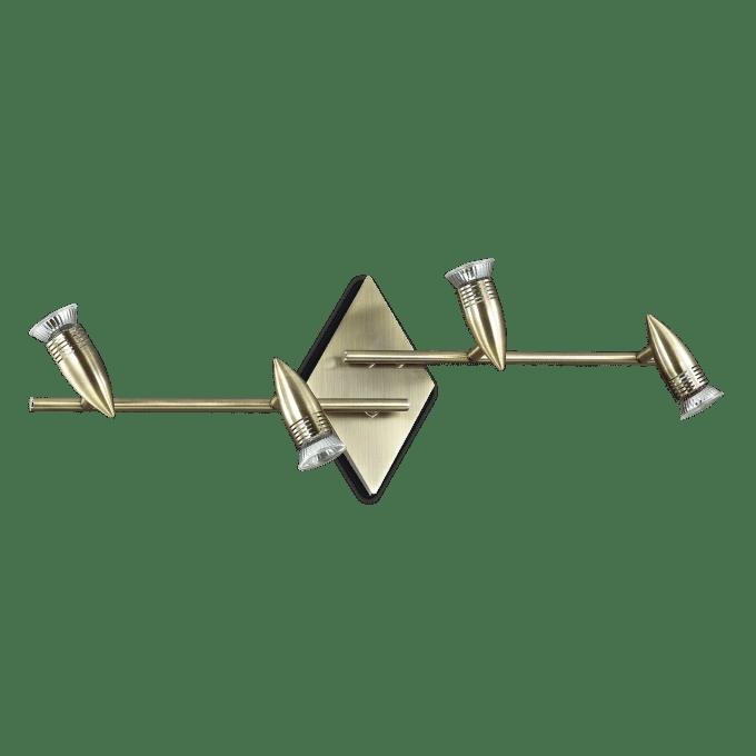 Lámpara de techo de Hierro y color Gris