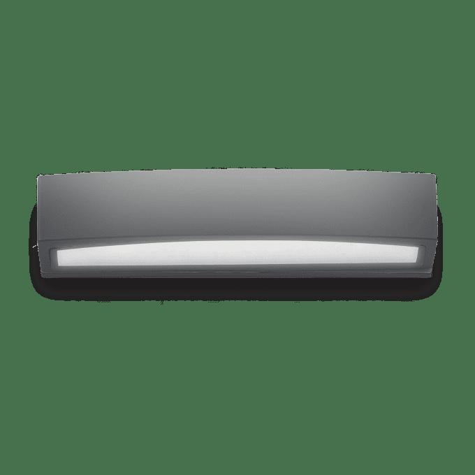 Lámpara de pared de Aluminio y color Antracita