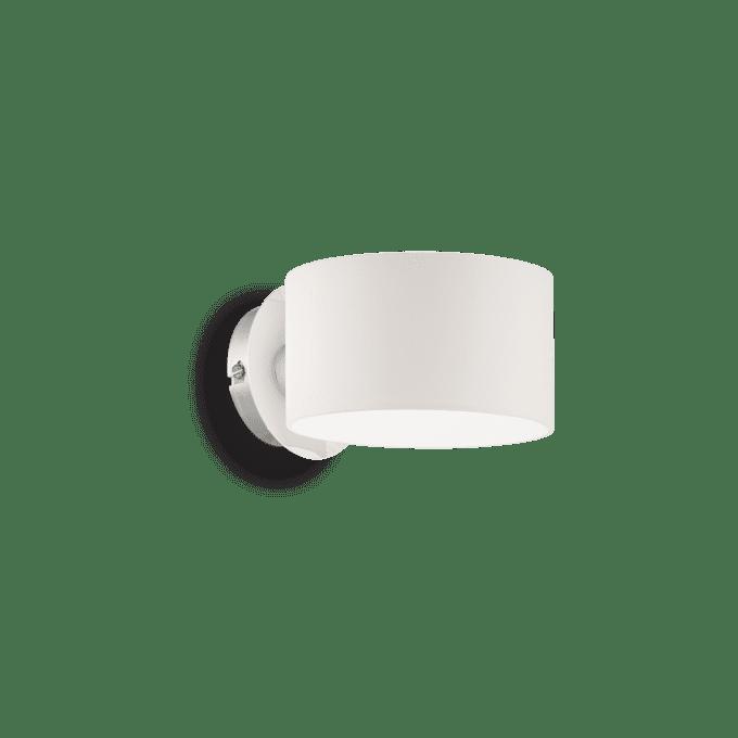 Lámpara de pared de Vidrio Soplado y color Blanco