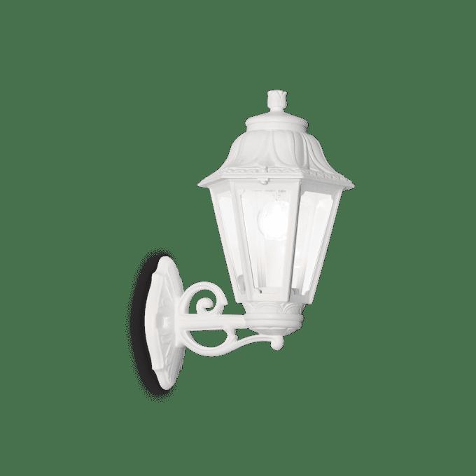 Lámpara de pared de Resina y color Blanco