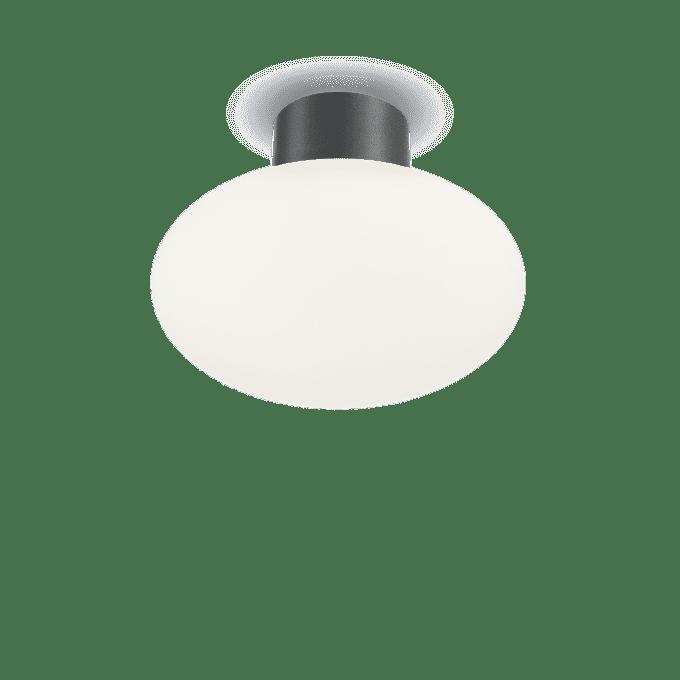 Lámpara de techo de Aluminio y color Antracita