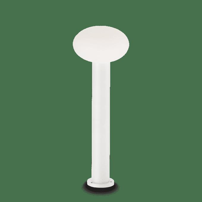 Lámpara de pie de Aluminio y color Blanco