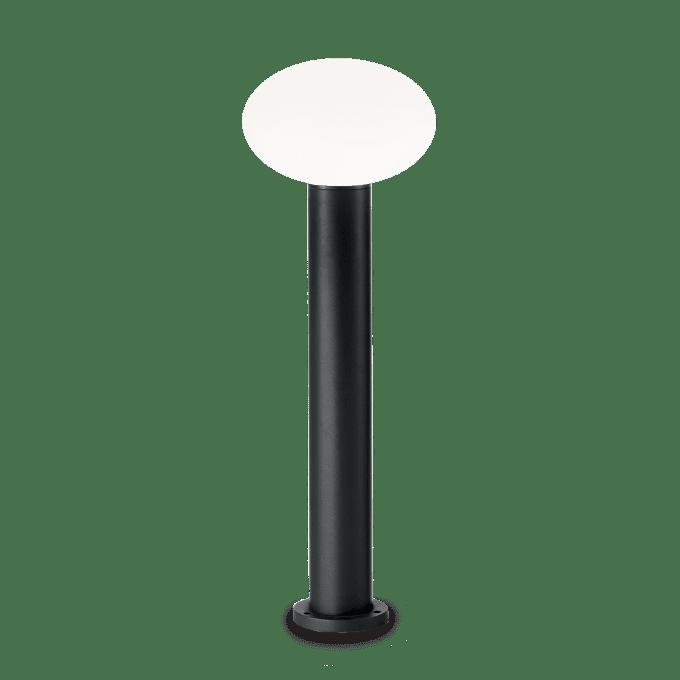 Lámpara de pie de Aluminio y color Negro