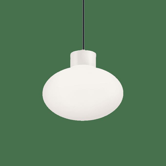 Lámpara colgante de Aluminio y color Blanco