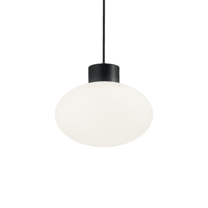 Lámpara colgante de Aluminio y color Negro
