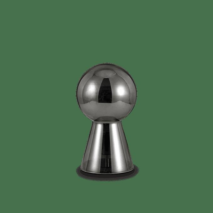 Lámpara de sobremesa de Cristal y color Fumé