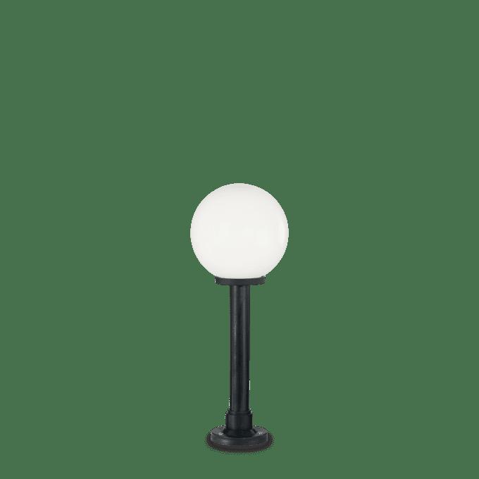 Lámpara de pie de Resina y color Blanco