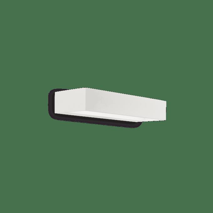 Lámpara de pared de Aluminio y color Blanco