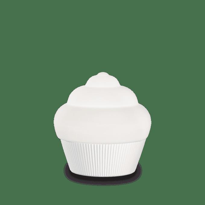 Lámpara de sobremesa de Resina y color Blanco