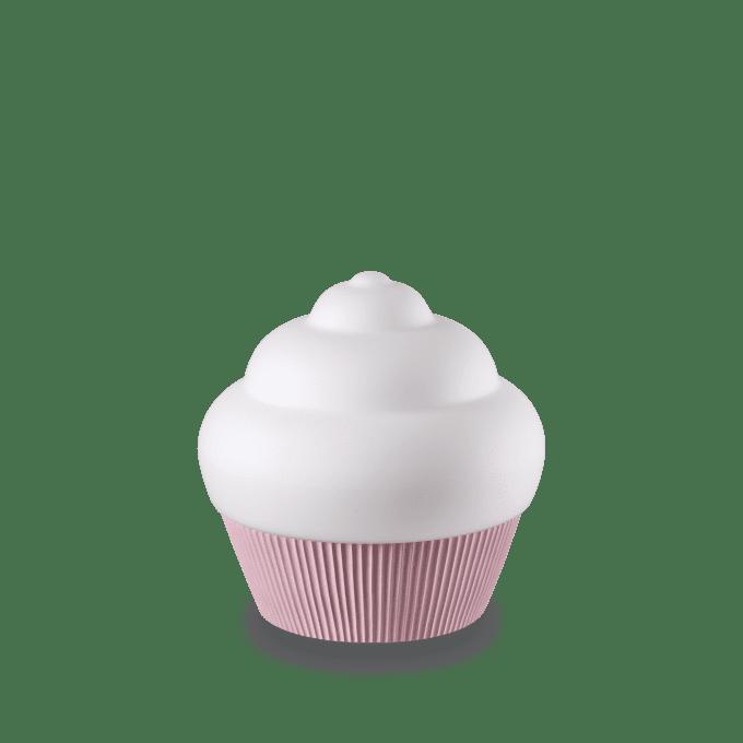 Lámpara de sobremesa de Resina y color ROSA