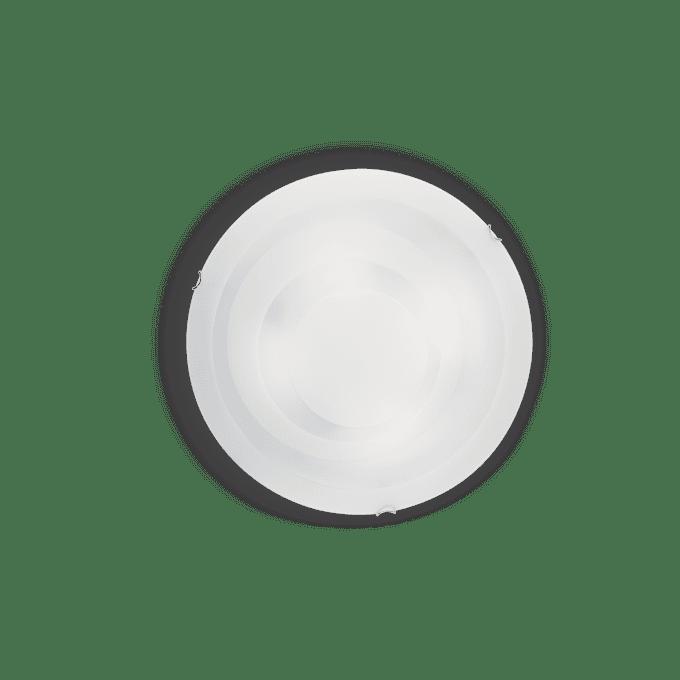 Lámpara de techo de Vidrio Soplado y color Blanco
