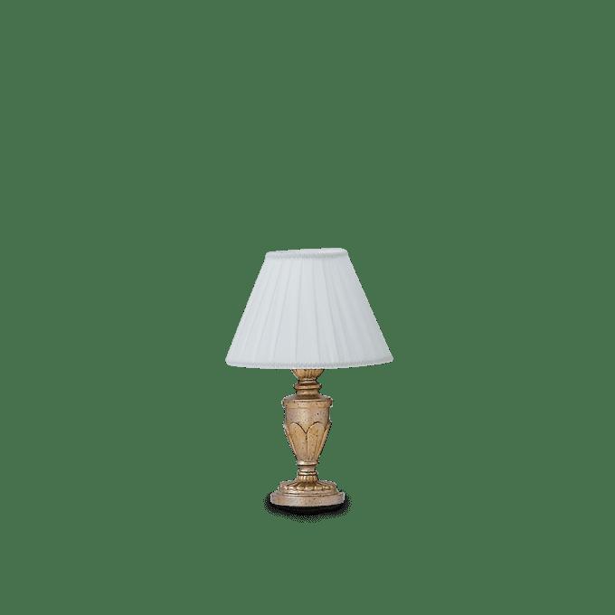 Lámpara de sobremesa de Resina y color Oro