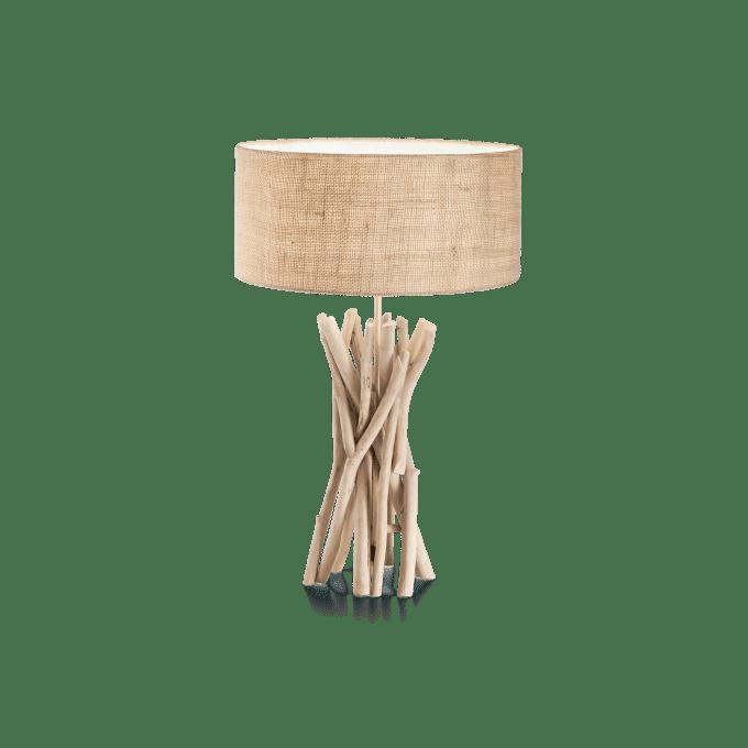 Lámpara de sobremesa de Madera y color Madera