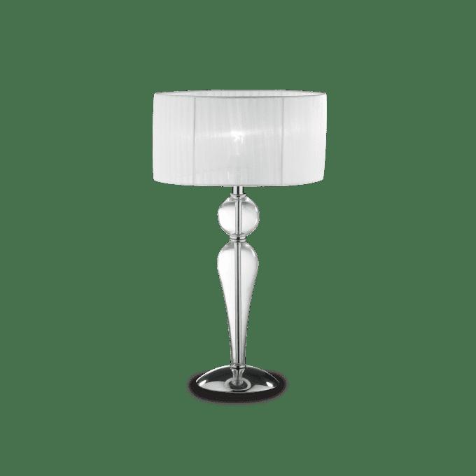 Lámpara de sobremesa de Cristal y color Transparente