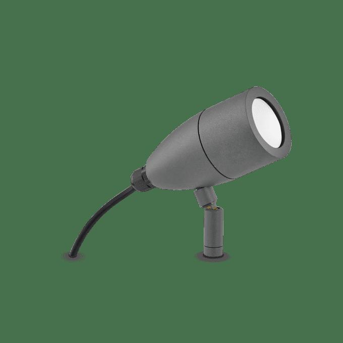 Lámpara de pie de Aluminio y color Antracita