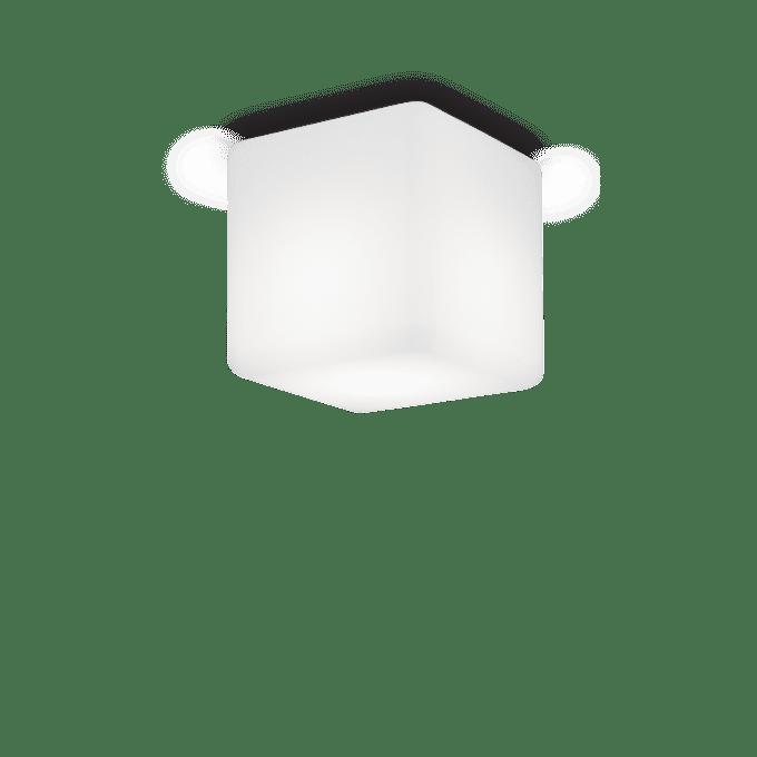 Lámpara de techo de Policarbonato y color Blanco