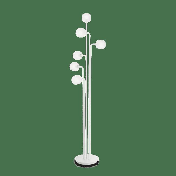 Lámpara de pie de Cristal