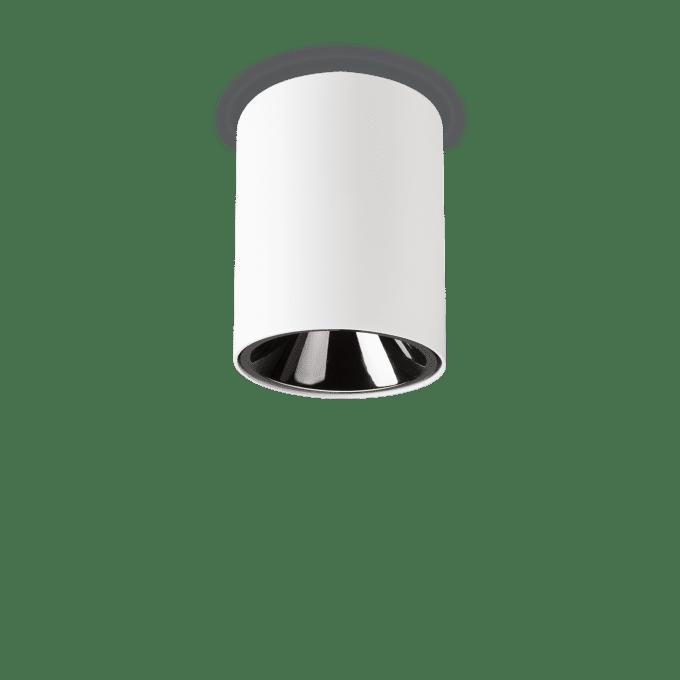 Lámpara de techo de Aluminio y color Blanco