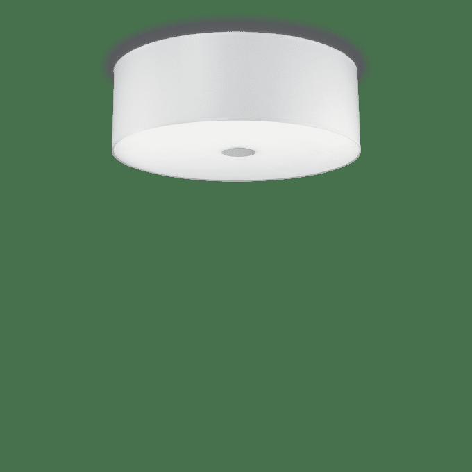 Lámpara de techo de Tela y color Blanco