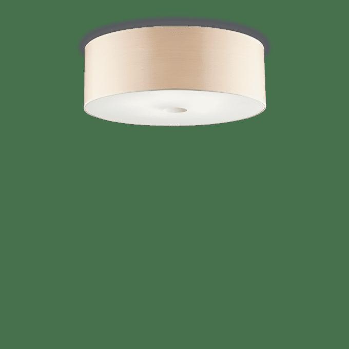 Lámpara de techo de PVC y color Madera