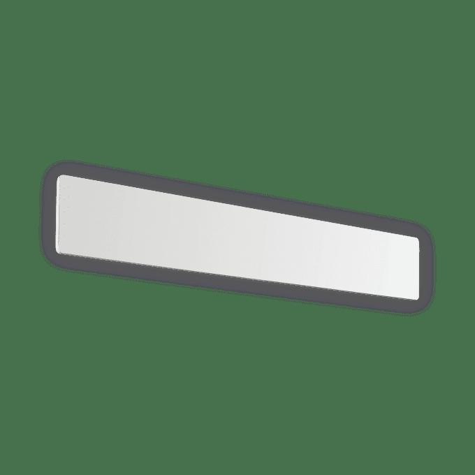 Lámpara de pared de Aluminio y color Negro