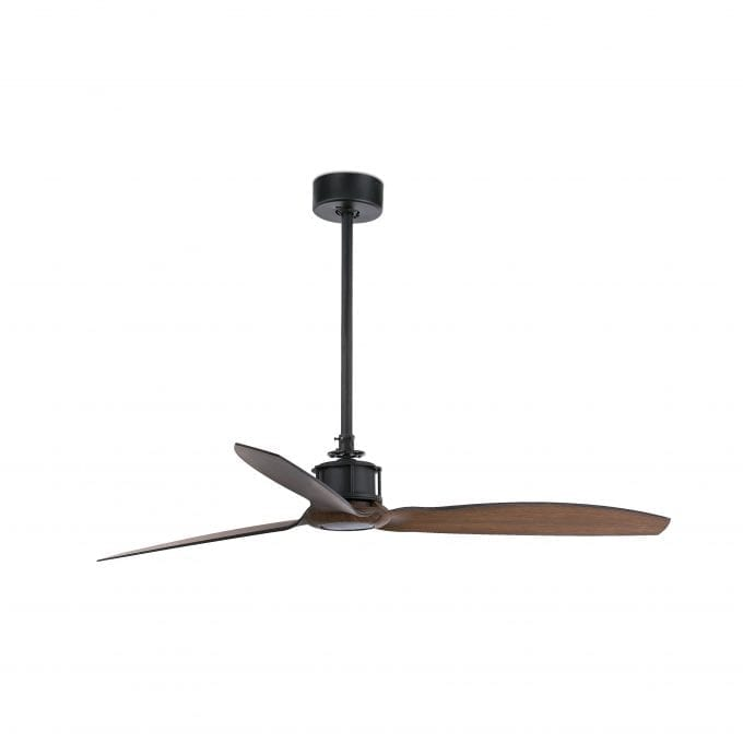 Just Fan 128: Ventilador sin luz negro con 3 de Faro Lorefar