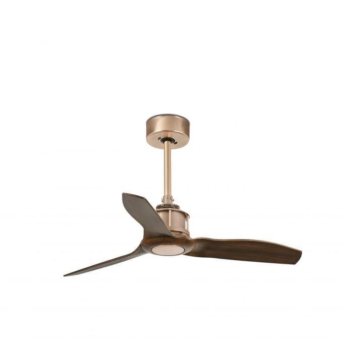 Just Fan 81: Ventilador sin luz cobre con 3 de Faro Lorefar